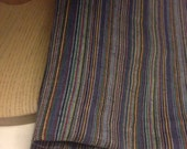 Cotton Mini Stripes  Fabric 2 Yards (sale)