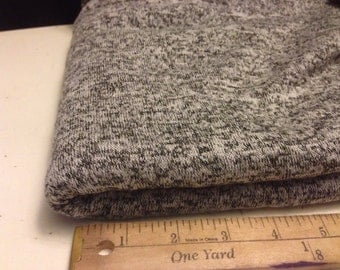 Jersey Knit Fabric 1-1/4 Yards Speckled Texture