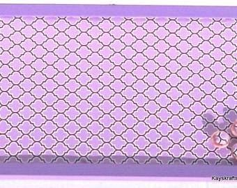 Radiant Purple Cork Board, Tack Board, Cork Pin Board, Cork Memo Bulletin Board, 17x11 Cork Message Board, Gift For Her