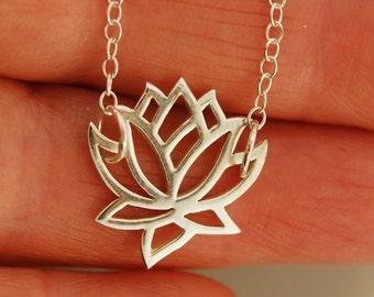 Full Lotus Necklace