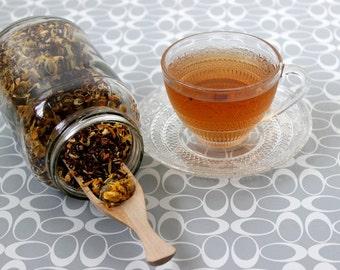 Lughnasadh Red Herbal Tea - Lammas - Loose Leaf or Single Serving Bags