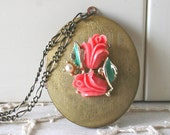 Vintage Locket Necklace - Jacinta