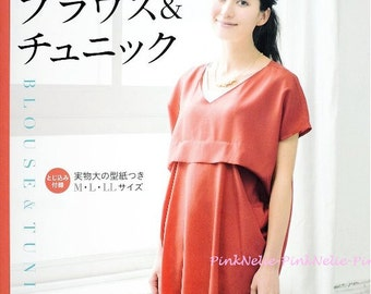 Tunic and Blouse  n3764 Japanese Craft Book