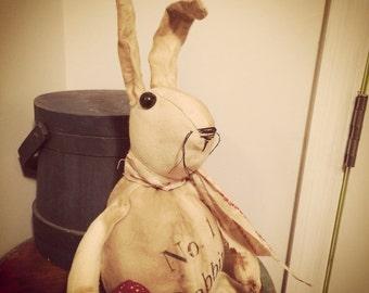 Primitive Rabbit Easter No. 1