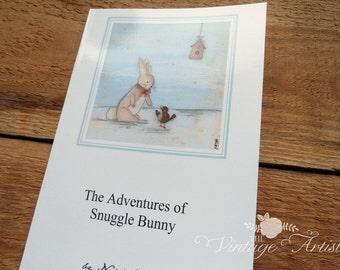 Snuggle Bunny Soft- cover book by Niki Jackson