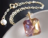 Custom Made to Order - 14k Ametrine Necklace