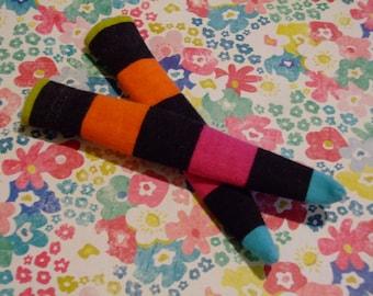 DAL Socks - Bold Candy Stripes