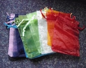 Rainbow Organza Bags, Reserved Order