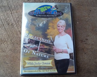 Reflections of nature painting dvd with Judy Crane art education