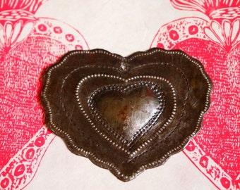 Haitian Milagro Heart Ornament Simple