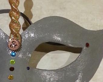 Color Choice Twisted Steampunk Unicorn Mask