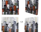 Abstract City no 16 & 17