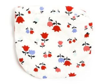 White tulip kids coin purse