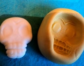 one inch skull mold with teeth