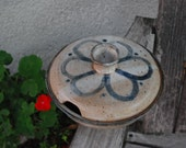 Vintage Stoneware Covered Casserole Soup Bowl