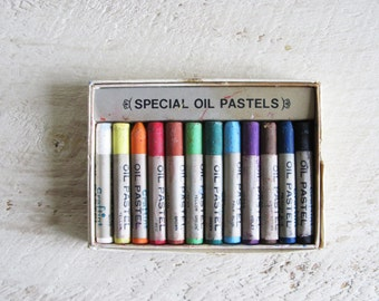 Vintage Craftint Artists Oil Pastels