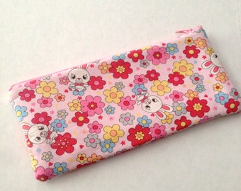 pencil zipper pouch hysteric bunnies