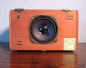 Amplified Cigar Box Speaker for iPod, Sansa, MP3 Player, or Computer
