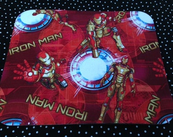 Fabric Computer Mousepad Made With Ironman Fabric Avengers