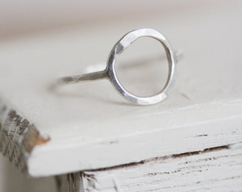 Simple Soldered Silver Ring