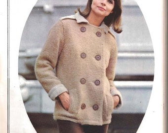 Knit Car Coat (U15)