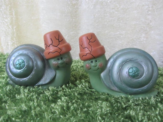 Snail Couple - Yard Art