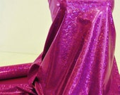 Shattered Glass Hologram Spandex Purple Fabric ...dance...cheer bows...gymnastics...costume..crafts...pageant