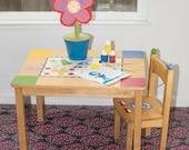 "Splat Mat/Tablecloth ""Mind's Eye"" - Laminated Cotton BPA  & PVC Free - Choose Your Size below!"