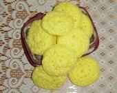 10 Dish Scrubbers Nylon Tulle Scrubbies