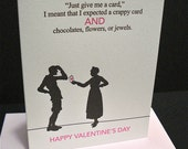 Crappy Card - letterpress love greeting