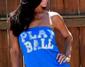 Play Ball.  FD Feel Naked Tshirt Tube Tops-13 tube top colors and 14 ink colors.