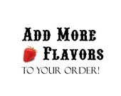Add an Additional Flavor Design to Your Order