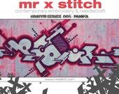 Graffiti Cross Stitch #005 - Panika
