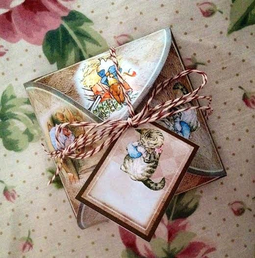 Decorative Boxes Templates : Decorative box template beatrix potter story book