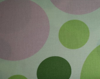 FAT QUARTER ONLY Heather Bailey hb17-celery Nicey Jane Dream Dot in Celery cotton fabric Fat Quarter (fq099) **