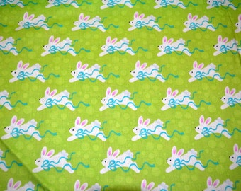 Fabric Patty Reed Designs  Easter Bunnies Laurie Campbell La Di Draw  Half Yard All Cotton