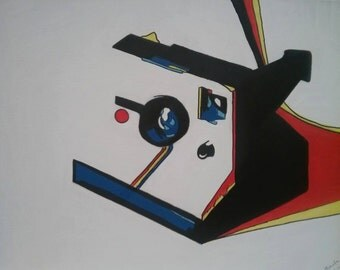 Polaroid Camera, The Hipster Abstract Pop Art