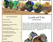 Nov 2013 Soda Lime Times Lampworking Magazine - Lentils and Tabs - (PDF) - by Diane Woodall