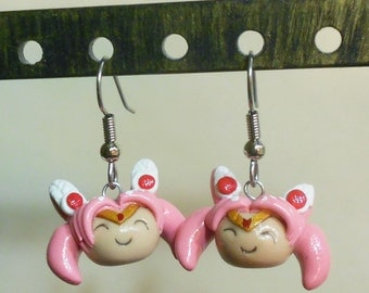 Chibi Usa earrings
