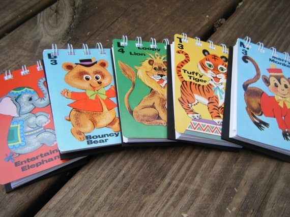 Animal Rummy minibook