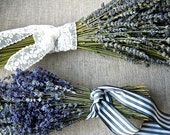 Custom Sampler Bouquets Double Bouquet of Both French and English Lavender