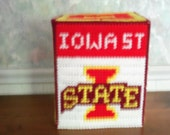 IOWA STATE Tissue Box Cover