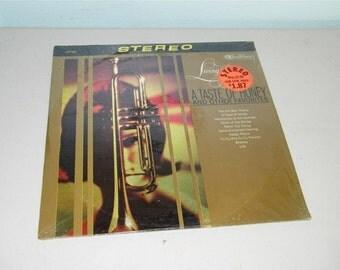 Vintage Living Brass A Taste of Honey LP Record Album 8737