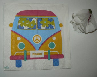 2  images Napkins from Holland VW