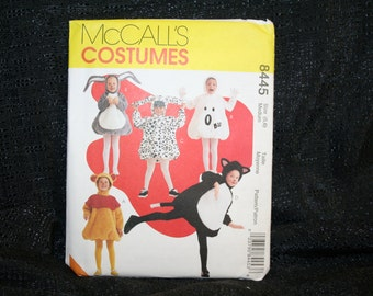 UNCUT McCall's 8445 Halloween Children's Play Dress Up Costumes SEWBUSY12