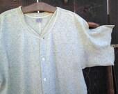 Penney's Vintage Long Johns 30s wool cotton underwear winter cabin union suit M L