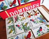 Super Tweet... Vintage Songbird Dominoes Educational Game National Wildlife Federation
