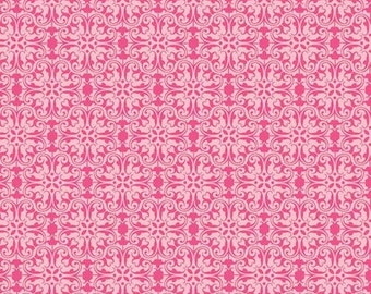 SALE Sunny Happy Skies Pink Lace