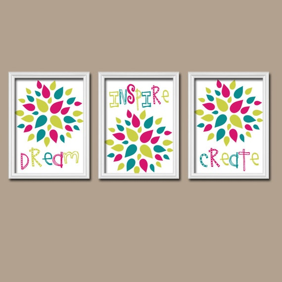 playroom wall art canvas or prints baby girl nursery artwork. Black Bedroom Furniture Sets. Home Design Ideas