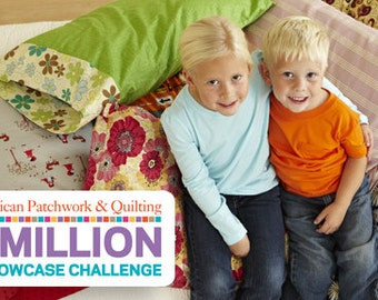 PDF Pattern How to Make a Pillow Case for the Million Pillow Case Challenge for Charities